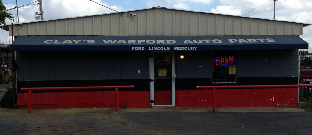 Warford Auto Parts salvage yard and used auto parts store